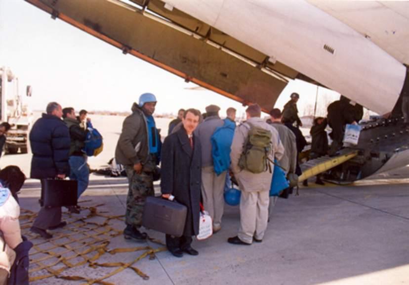 Muhammed Bozdağ, savaş şartlarında Bosna yolculuğu (1994)