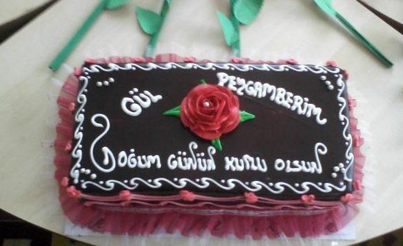 Kutlu doğum haftası pastası